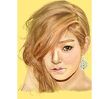 Tiffany fanart print Photographic Print