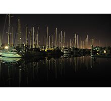 A Private Top End Marina (100 Step Program) Photographic Print