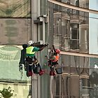 The colourful world of the high-rise window washers by awefaul
