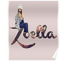 Zoella Floral Poster