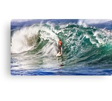 Kelly Slater at 2009 Quiksilver in Memory of Eddie Aikau Canvas Print