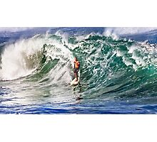 Kelly Slater at 2009 Quiksilver in Memory of Eddie Aikau Photographic Print