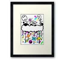 Trippy de-do-da Framed Print