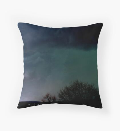 Not in Kansas Throw Pillow
