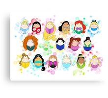 Ladies of Disney Canvas Print