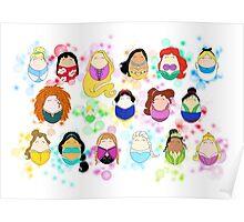 Ladies of Disney Poster