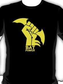 BATMAN POWER - BLACK POWER - BAT POWER ( yellow ) T-Shirt