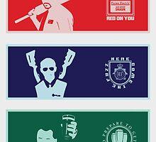 Cornetto Trilogy - Banners by jackallum