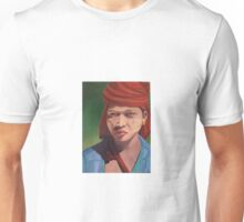 Pa O girl from Myanmar with Thanaka Unisex T-Shirt