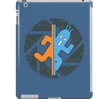 PAMPA PORTAL FINAL FANTASY CACTUAR TESTCHAMBER iPad Case/Skin