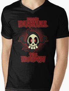 From Duskull till dawn Mens V-Neck T-Shirt