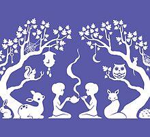 Twilight Teatime by Susan Lee