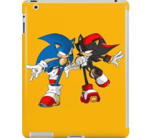 sonic and shadow iPad Case/Skin