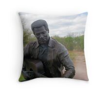 Listen Here Now Throw Pillow