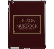 Nelson & Murdock - Attorneys at Law (Daredevil) iPad Case/Skin