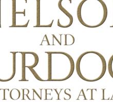 Nelson & Murdock - Attorneys at Law (Daredevil) Sticker