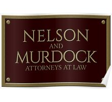 Nelson & Murdock - Attorneys at Law (Daredevil) Poster