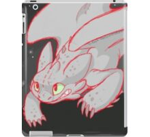 Night fury how to train your dragon iPad Case/Skin