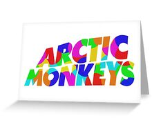 Arctic Monkeys 2 Greeting Card