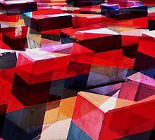 redblocks by Hannah Saldaris