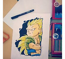 Gotenks ssj3 Photographic Print