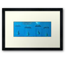 four seasons Framed Print