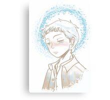 Castiel - Halo Canvas Print