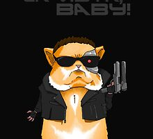 Hamster Terminator Text by CRGArtDesign