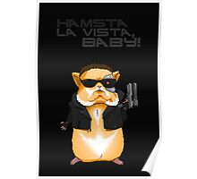Hamster Terminator Text Poster