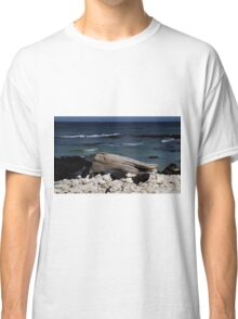 Sitting at the Beach Classic T-Shirt
