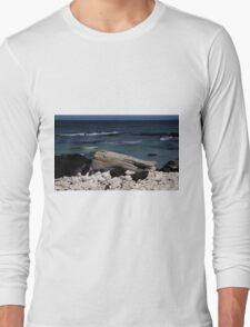 Sitting at the Beach Long Sleeve T-Shirt