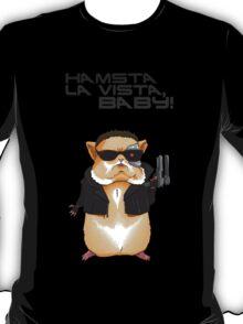 Hamster Terminator Text T-Shirt