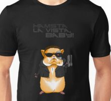 Hamster Terminator Text Unisex T-Shirt