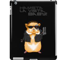 Hamster Terminator Text iPad Case/Skin