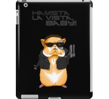 Hamster Terminator Text iPad Case/Skin