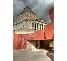 Shrine of Remembrance  Photographic Print