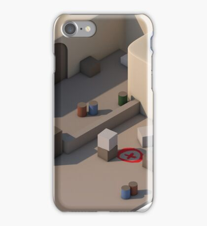 de_dust2 B Site iPhone Case/Skin