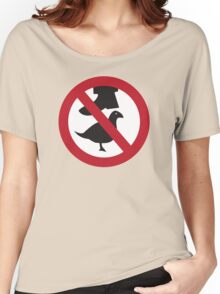 Don't Step on the Birds Women's Relaxed Fit T-Shirt