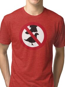 Don't Step on the Birds Tri-blend T-Shirt