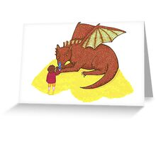 Fire and Sting Greeting Card