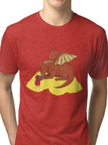 Fire and Sting Tri-blend T-Shirt