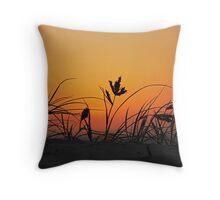 Sunrise on Currumbin Beach Throw Pillow