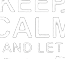 Keep Calm and Let Richard - T - Shirts & Hoodies Sticker