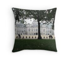 Whitehall, London Throw Pillow