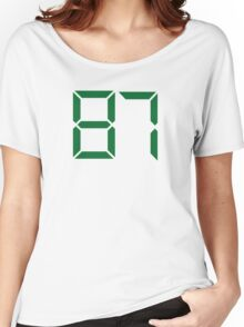 Number 87 Women's Relaxed Fit T-Shirt