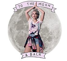 Halsey To The Moon & Back Photographic Print