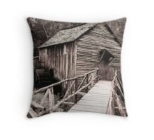 The Cable Grist Mill Throw Pillow