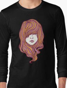 Her hair Long Sleeve T-Shirt