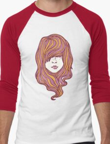 Her hair Men's Baseball ¾ T-Shirt