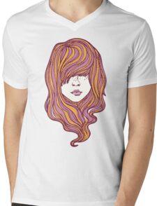 Her hair Mens V-Neck T-Shirt